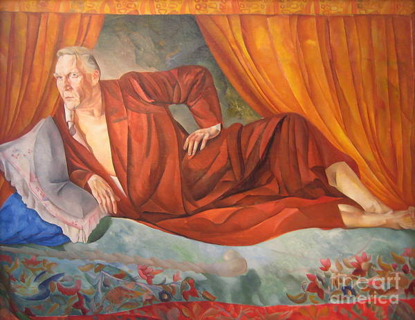 Russian Impressionism Wall Art - Painting - Feodor Chaliapin by Celestial Images