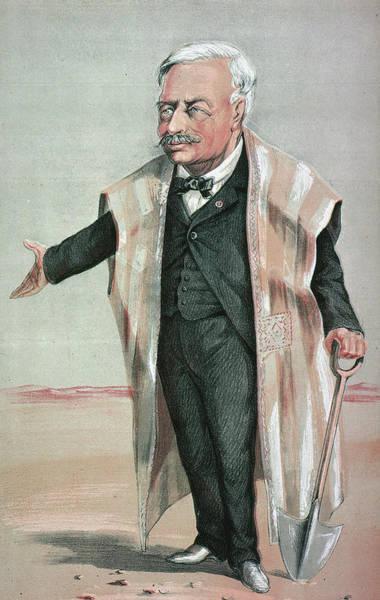 Painting - Ferdinand De Lesseps (1805-1894) by Granger