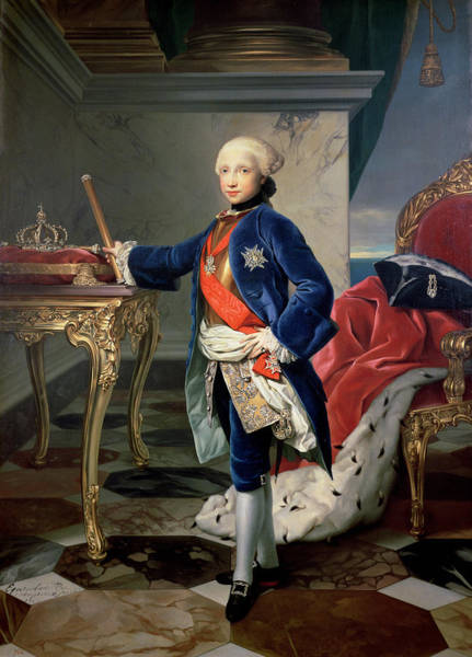 Ermine Wall Art - Painting - Ferdinand Iv, King Of Naples by Anton Raphael Mengs
