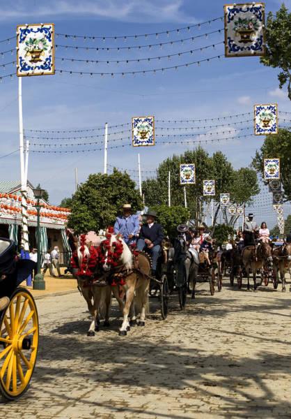 Photograph - Feria Parade Seville by Lorraine Devon Wilke