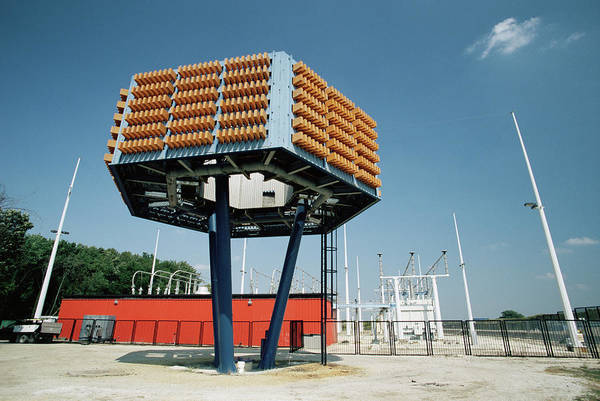 Wall Art - Photograph - Fermilab Power Supply by David Hay Jones/science Photo Library