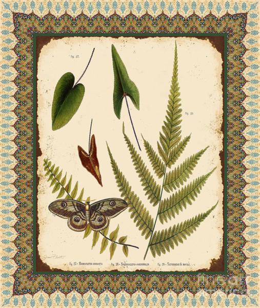 Ferns Digital Art - Fern Tapestry-b by Jean Plout