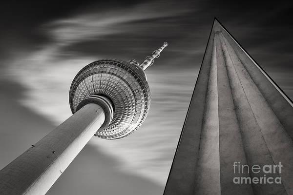 Fernsehturm Berlin Art Print