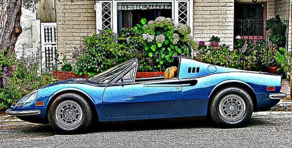 Photograph - Ferrari 246 Gt Dino by Samuel Sheats