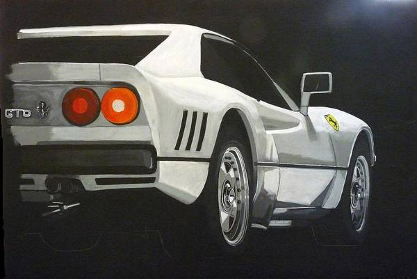 Painting - Ferrari 288 Gto by Richard Le Page