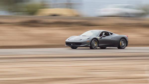 458 Photograph - Ferrari 458 Italia Fine Art Print by Brad Scott