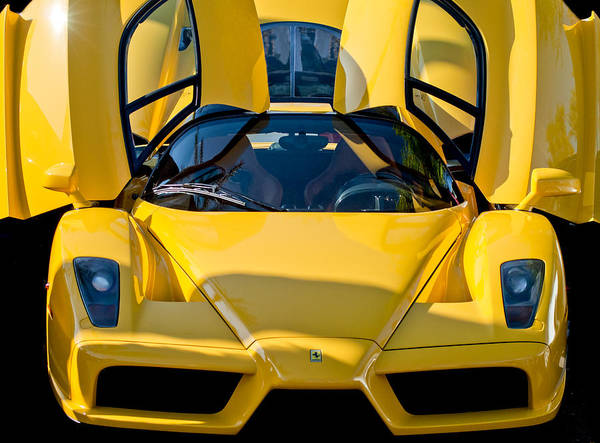 Exotic Car Photograph - Ferrari Enzo by Jill Reger