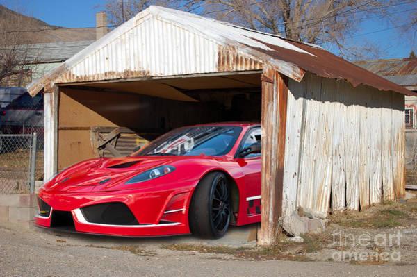 Photograph - Ferrari by Gunter Nezhoda