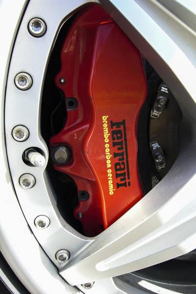 Brembo Photograph - Ferrari by Jose Bispo