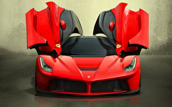 Photograph - Ferrari Laferrari F 150 Supercar by Movie Poster Prints