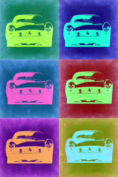 Wall Art - Painting - Ferrari Pop Art 2 by Naxart Studio