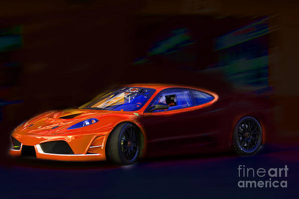 Photograph - Ferrari Shadow by Gunter Nezhoda