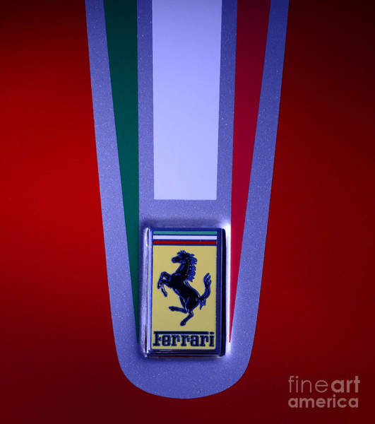 Wall Art - Photograph - Ferrari Showing Its Colors by Paul Ward