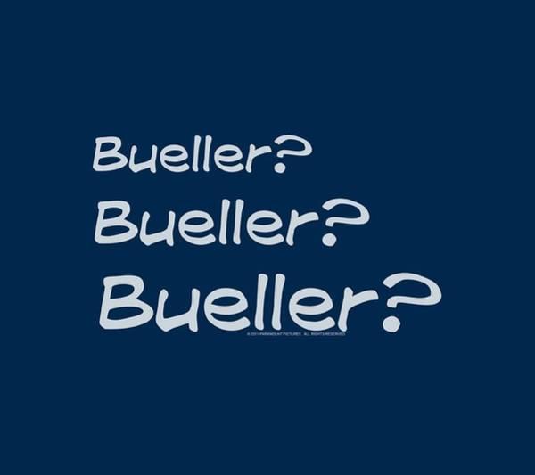 Off Digital Art - Ferris Bueller - Bueller? by Brand A
