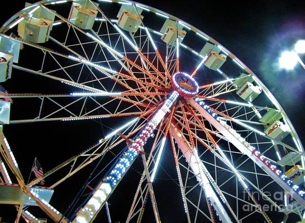 Wall Art - Photograph - Ferris Wheel 1 by William Bryant