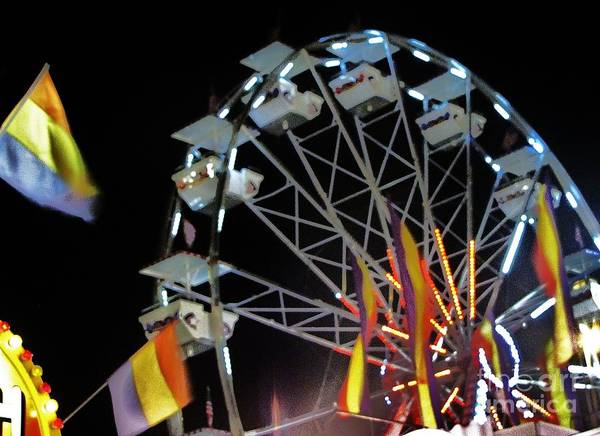 Wall Art - Photograph - Ferris Wheel 2 by William Bryant