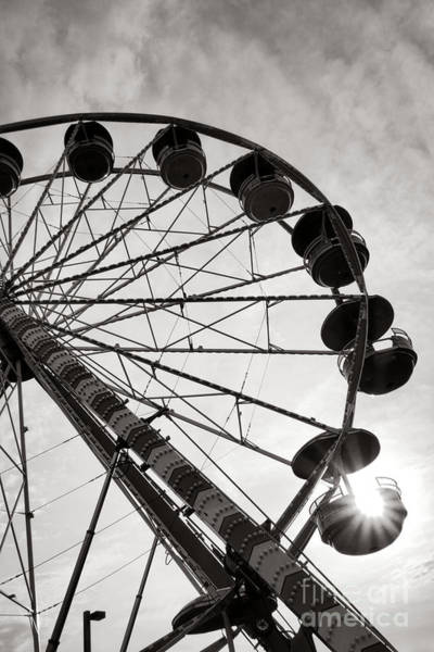 Wall Art - Photograph - Ferris Wheeler Day Off by Olivier Le Queinec