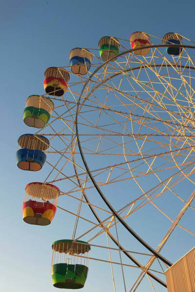 New South Wales Photograph - Ferris Wheel, Luna Park, Sydney, New by Marco Simoni / Robertharding