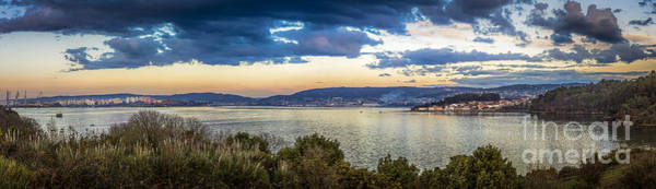 Photograph - Ferrol's Estuary Panorama El Seijo Mugardos Galicia Spain by Pablo Avanzini