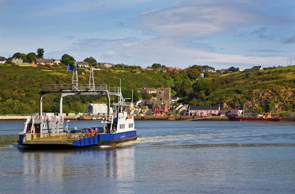 Suir Photograph - Ferry Crossing Waterford Harbour by Panoramic Images