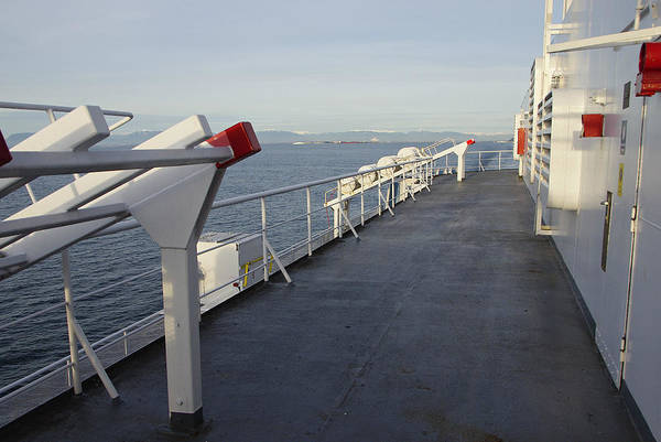 Photograph - Ferry Deck by Marilyn Wilson