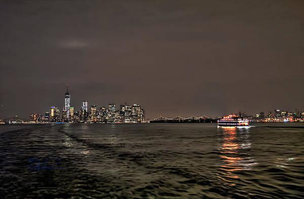 Photograph - Ferry Run by S Paul Sahm