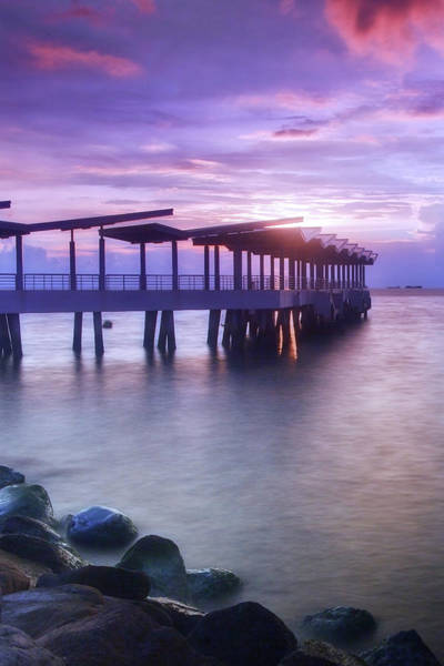 Wall Art - Photograph - Ferry Station by Melv Pulayan