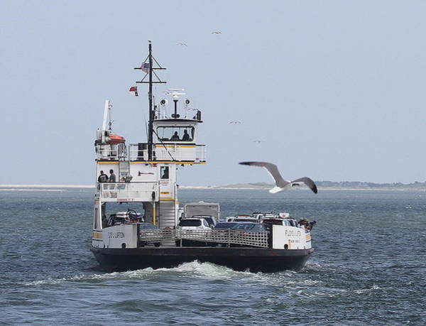 Conyers Photograph - Ferry To Ocracoke 4 by Cathy Lindsey