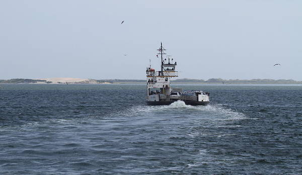 Conyers Photograph - Ferry To Ocracoke 5 by Cathy Lindsey
