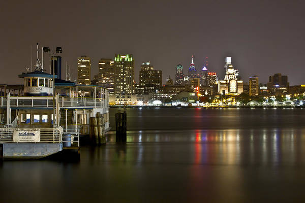 Photograph - Ferry To The City Of Brotherly Love by Paul Watkins