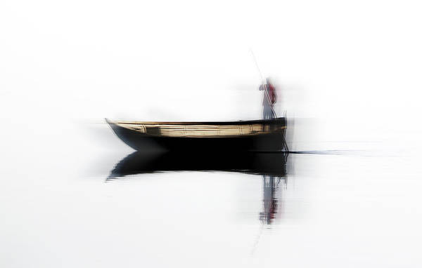Wall Art - Photograph - Ferryman by Hans-wolfgang Hawerkamp