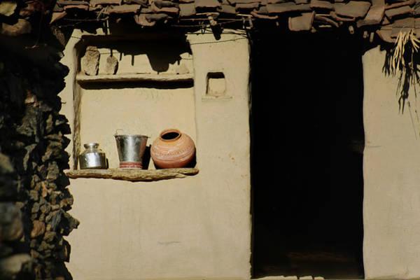 Mud House Photograph - Fervet Olla Vivit Amicitia by A Rey