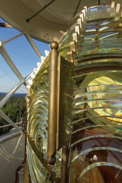 Fresnel Lens Wall Art - Photograph - Fesnel Lens Of The Devils Island by Chuck Haney