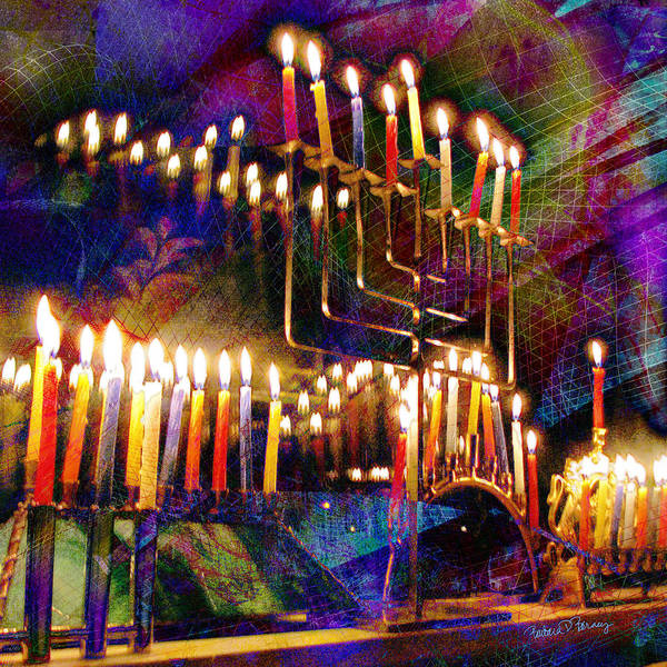Digital Art - Festival Of Lights by Barbara Berney
