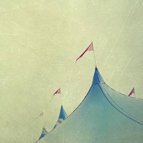 Tent Photograph - Festival Tent Canopy And Flags by Nichola Sarah
