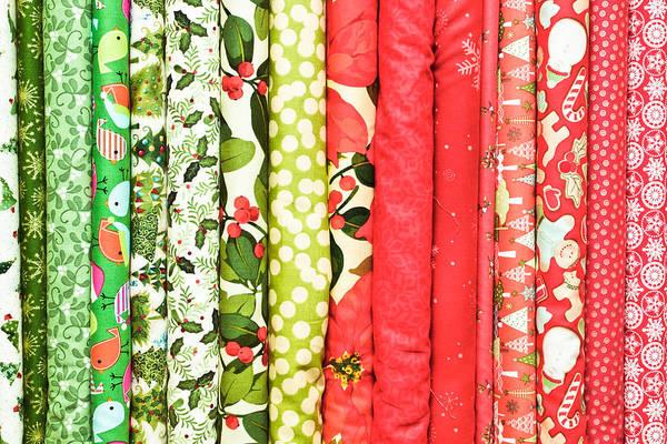 Cheer Photograph - Festive Fabric by Tom Gowanlock