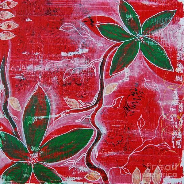 Festive Garden 1 Art Print