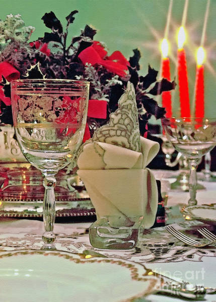 Photograph - Festive Setting by Geoff Crego