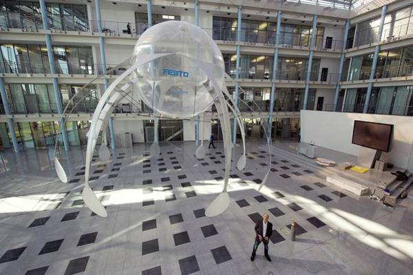 Technological Photograph - Festo Airjelly by Philippe Psaila