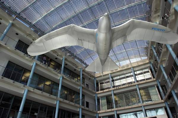 Technological Photograph - Festo Smartbird by Philippe Psaila