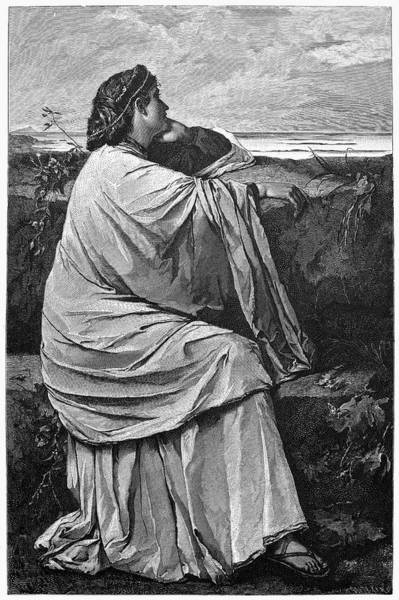 Painting - Feuerbach Iphigenia by Granger