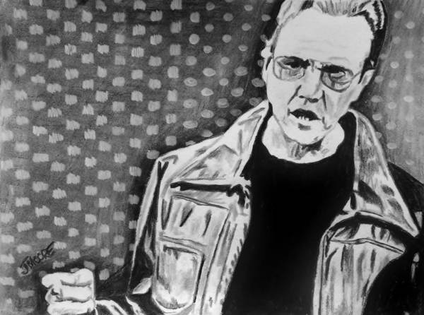 Blue Oyster Cult Wall Art - Drawing - Fever by Jeremy Moore
