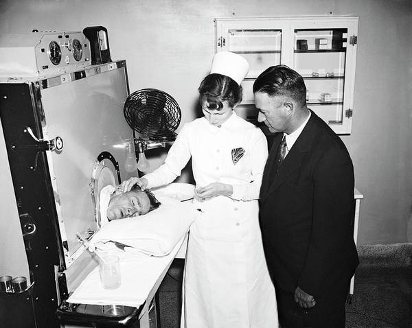 Fever Photograph - Fever Machine Treatment by Library Of Congress