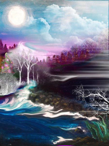 Wall Art - Painting - Fey Landscape by Patricia Motley