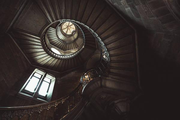 Stairwell Wall Art - Photograph - Fibonacci's Tower by Ronan Siri