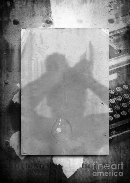 Poetry Photograph - Fiction by Edward Fielding