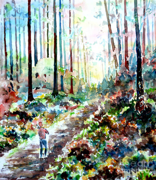 Wall Art - Painting - Fiddlers Walk II by Almo M
