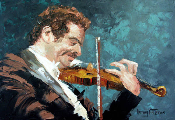 Painting - Fiddling Around by Anthony Falbo