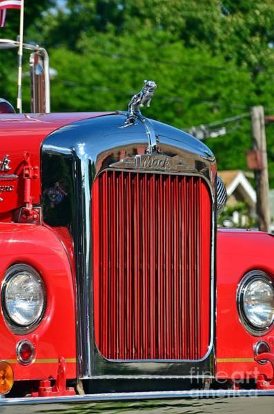 Photograph - Fie Truck by Randy J Heath