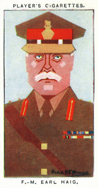 Douglas Drawing - Field Marshal Douglas Haig, 1st Earl by Mary Evans Picture Library